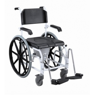 Silla de baño autopropulsable de Sunrise Medical