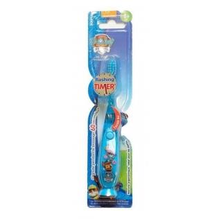 Cepillo de dientes para niño de plástico inspirado en la Patrulla Canina. Con capuchón. Color azul