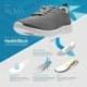Zueco calzado con tecnología Health Tech modelo Alma Navy Marino - Foto 5