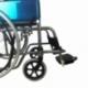 Silla de ruedas | Plegable | Ruedas grandes | Ortopédica | Ligera | Negro | Alcázar | Mobiclinic - Foto 4