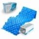 Colchón antiescaras de aire   Con compresor   PVC médico ignífugo   200 x 90 x 7   130 celdas   Azul   Mobi 1   Mobiclinic - Foto 1
