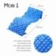 Colchón antiescaras de aire   Con compresor   PVC médico ignífugo   200 x 90 x 7   130 celdas   Azul   Mobi 1   Mobiclinic - Foto 2