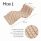 Colchón antiescaras de aire | Con compresor | PVC médico ignífugo | 200 x 90 x 7 | 130 celdas | Beige | Mobi 1 | Mobiclinic - Foto 2