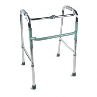 Andador para adultos | Aluminio | Plegable | Sin ruedas | Columna | Mobiclinic