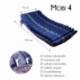 Colchón antiescaras de aire | Con compresor | TPU Nylon | 200 x 90 x 22 | 20 celdas | Azul | Mobi 4 | Mobiclinic - Foto 2