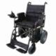 Silla de ruedas eléctrica | Plegable | Acero | Motor | Para discapacitados | Auton. 20 km | 24V | Negro | Cenit | Mobiclinic - Foto 1