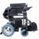 Silla de ruedas eléctrica | Plegable | Acero | Motor | Para discapacitados | Auton. 20 km | 24V | Negro | Cenit | Mobiclinic - Foto 6