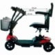 Scooter eléctrico para adultos   4 ruedas   Compacto y desmontable   Auton. 10 km   12V   Rojo   Virgo   Mobiclinic - Foto 16