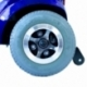 Scooter eléctrico 4 ruedas para minusválidos | Asiento giratorio y plegable | Auton. 34 km | 12V | Azul | Piscis | Mobiclinic - Foto 7