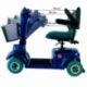 Scooter eléctrico 4 ruedas para minusválidos | Asiento giratorio y plegable | Auton. 34 km | 12V | Azul | Piscis | Mobiclinic - Foto 9
