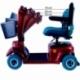 Scooter eléctrico para minusválidos | Asiento giratorio y plegable | Auton. 34 km | 12V | Burdeos | Piscis | Mobiclinic - Foto 9