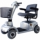 Scooter eléctrico 4 ruedas para minusválidos | Asiento giratorio y plegable | Auton. 34 km | 12V | Gris | Piscis | Mobiclinic - Foto 1