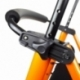 Andador para ancianos   Aluminio   Plegable   Asiento y respaldo   2 ruedas   Cesta   Naranja   Nerón   Mobiclinic - Foto 4