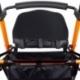 Andador para ancianos   Aluminio   Plegable   Asiento y respaldo   2 ruedas   Cesta   Naranja   Nerón   Mobiclinic - Foto 10