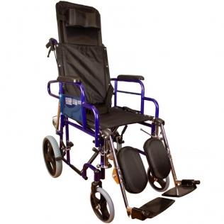 Silla de ruedas | Plegable | Frenos en manetas | Negra | Esfinge | Mobiclinic