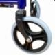 Silla de ruedas | Plegable | Frenos en manetas | Negra | Esfinge | Mobiclinic - Foto 5
