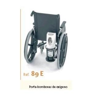 Soporte de botella de oxígeno | silla de ruedas | ruedas traseras 12