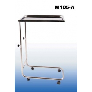 Mesa instrumental acero inoxidable antigiro