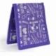 Salvabolsillos para bata o pijama | estampados en morado | Keen's de Mobiclinic | Elite Bags - Foto 3