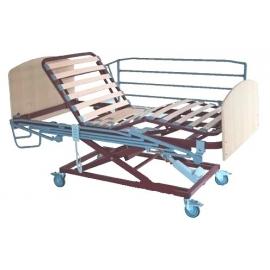 Cama articulada eléctrica | 196x90 cm | Incluye elevador, barandillas, piecero y cabecero | Lamas anti bacterias | Tecnimoem