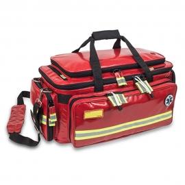 Bolsa de emergencias | Primeros auxilios | Soporte Vital Avanzado | Critical's Tarpaulín | Rojo | Elite Bags