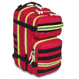 Mochila compacta primera intervención | Bolsa de emergencias | Roja | C2 Bag | Elite Bags