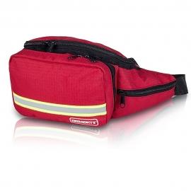 Riñonera botiquín de primeros auxilios | Básica | Rojo | EMS | Elite Bags