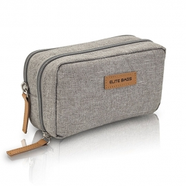 Estuche isotérmico | Para personas diabéticas | Diabetic´s | Color gris | Elite Bags