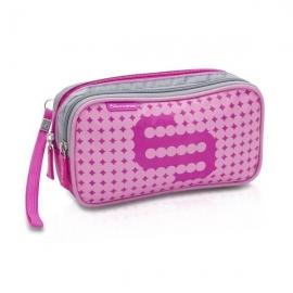 Elite Bags | Bolsa isotérmica Dia's | Color rosa| Para personas diabéticas