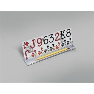 Soporte para baraja de naipes | Sujeta cartas | Superficie plana