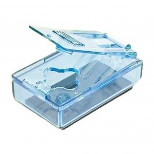Dispensador de comprimidos   Ergonómico   Azul   Mobiclinic