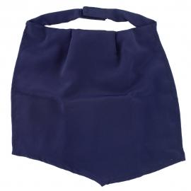 Pañuelo de traqueo | Azul marino | Seda
