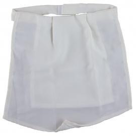 Pañuelo de traqueo | Hueso-marfil | Seda
