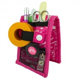 Salvabolsillos | MINIKEEN'S de Mobiclinic | Estampado rosa | Elite Bags