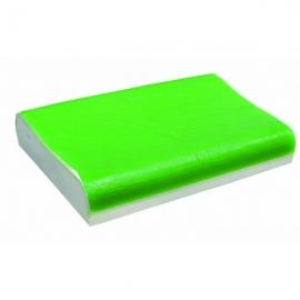 Almohada Curve | Espuma alta densidad + Gel | Viscoelástica | Rectangular | 60 x 40 x 10 cm