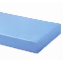 Colchón 150 cm, poliuretano antialérgico y antiácaros, con funda
