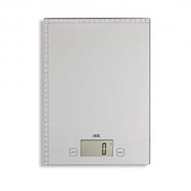 Balanza digital para cocina hasta 20 kg | Doble función | Plateada | Bridget | ADE