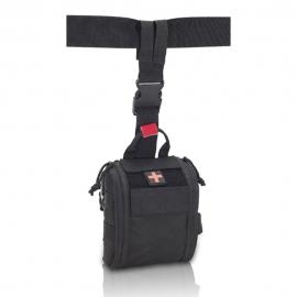 Botiquín pernera   Botiquín de emergencias   Tamaño medio   Negro   Fast's   Elite Bags