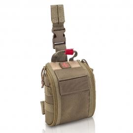Botiquín pernera   Botiquín de emergencias   Tamaño medio   Color coyote   Fast's   Elite Bags