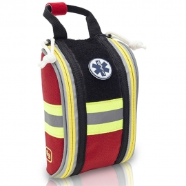 Botiquín compacto | Botiquín primeros auxilios | Sistema Molle | Rojo | Compact's | Elite Bags