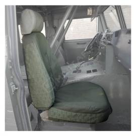 Fundas para asientos vehículos militares | LMV | Sistema MOLLE | Color verde | Elite Bags
