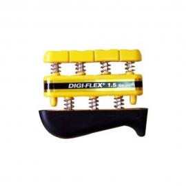 Ejercitador de dedos. Terapia, rehabilitación y entrenamiento para dedos y manos. Color Amarillo. Resistencia 70 Kg.