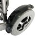 Silla de ruedas eléctrica | Plegable | Auton. 17 km | Aluminio | 24V Ligera | Segura y cómoda| Troya | Mobiclinic - Foto 7