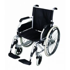 Silla de ruedas plegable | Aluminio | Ultraligera