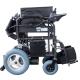 Silla de ruedas eléctrica plegable | Auton. 20 km |Acero | Motor | 24V | Negro | Cenit | Mobiclinic - Foto 5