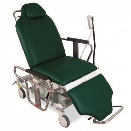 Sillón ambulatorio eléctrico | reposa piernas y barandillas | AMBEO