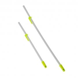 Pajita con válvula antirretorno y clips | Blanca y amarilla | Mobiclinic