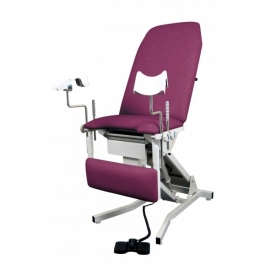Mesa de ginecología | altura variable y apoya piernas | Beaumond