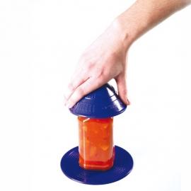 Abretarros antideslizante para abrir o cerrar recipientes| Dycem | Azul