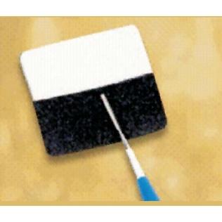 Placa raspadora para bisturí eléctrico
